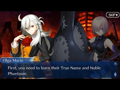 Fate/Grand Order Part 5: The Incomplete Servant