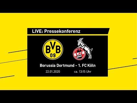 Live: Pressekonferenz mit Lucien Favre | BVB - 1.FC Köln