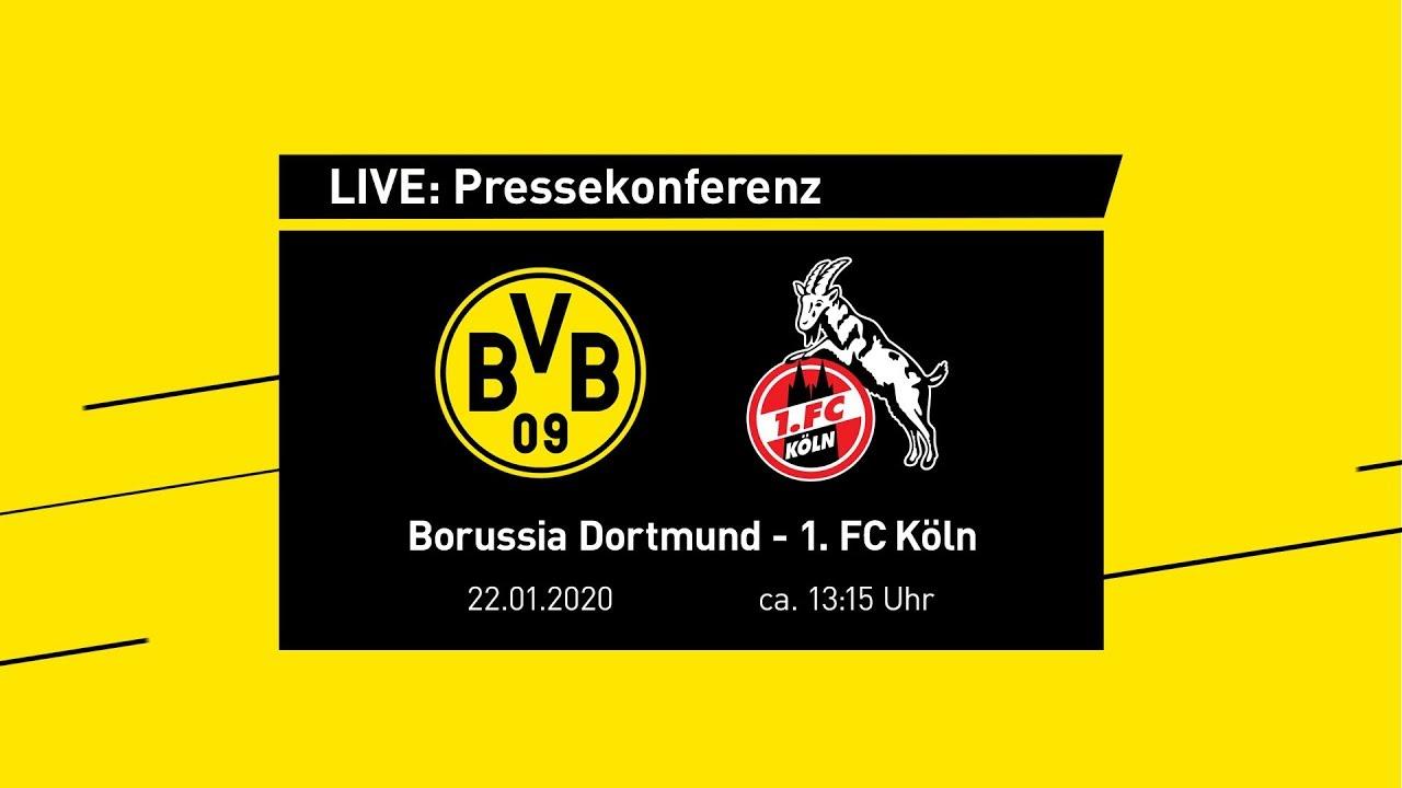 Live: Pressekonferenz mit Lucien Favre & Michael Zorc | BVB - 1.FC Köln