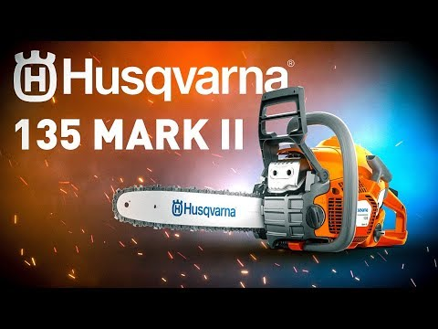 Бензопила HUSQVARNA 135 MARK II ОБЗОР