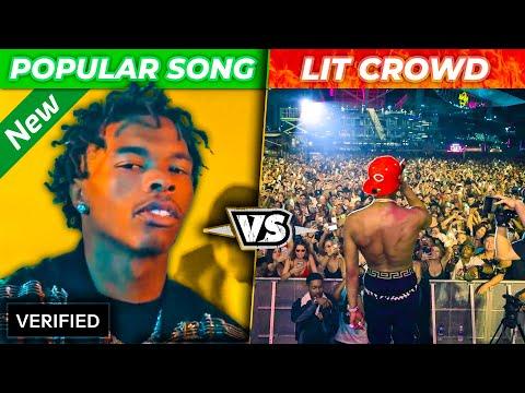 Popular Rap Songs Vs. Lit Crowds 2020