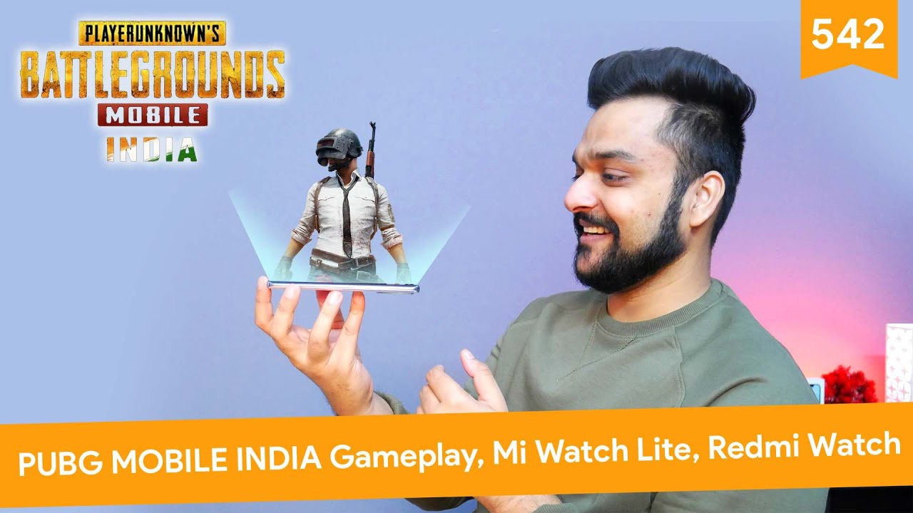 PUBG Mobile India Gameplay, Redmi Note 9 5G series, Mi Watch Lite, Redmi Watch, iPad Pro 2021 5G