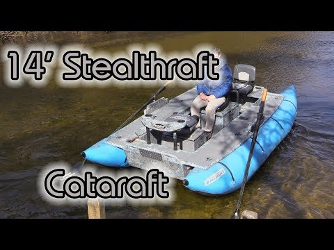 14' Stealth Raft Cataraft - Versatile Pontoon Raft
