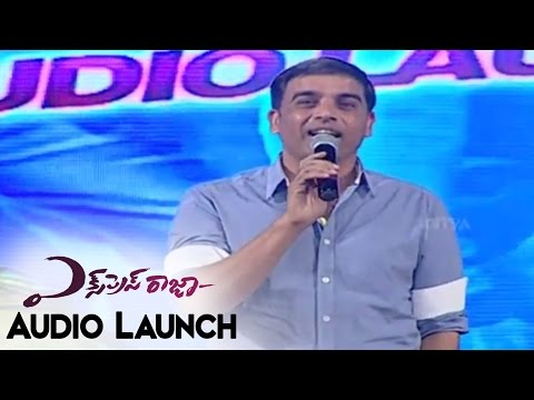 Dil Raju Feels Jealous about UV Creations At Express Raja Audio Launch || Sharvanand,Surabhi