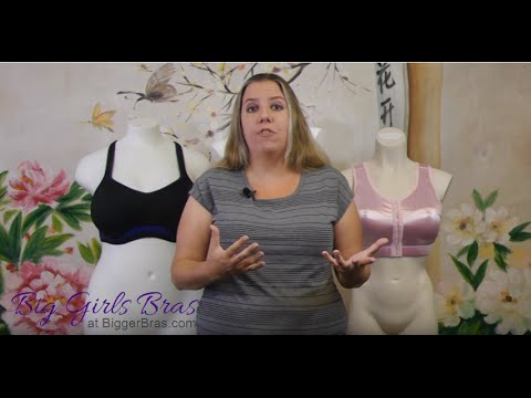 8e2592ccf66 Large Cup and Plus Size Sports Bra Reviews - YouTube