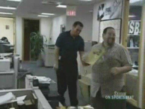Wes vs Alan Faneca on SportsBeat