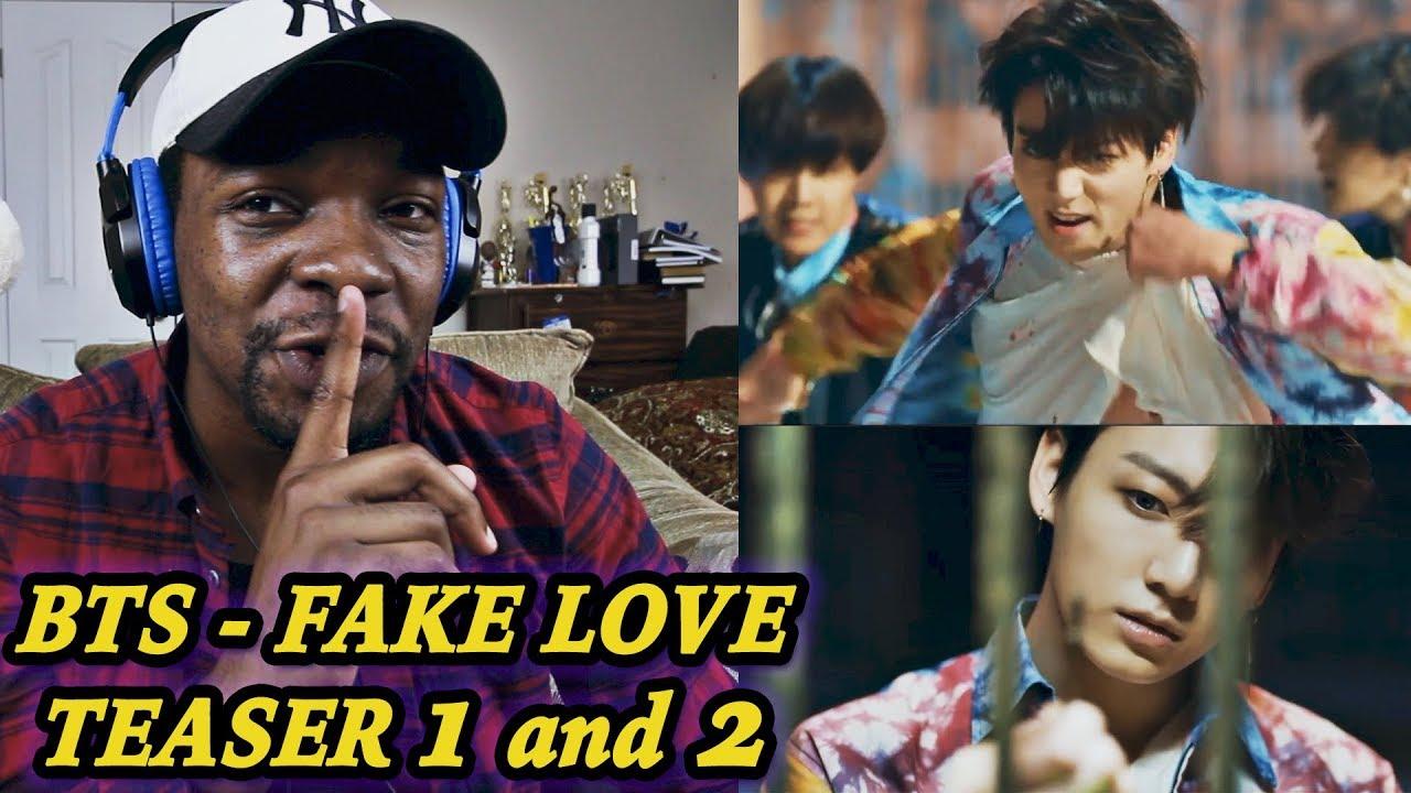 Bts Fake Love Official Teaser 1 2 Reaction Jamal Haki