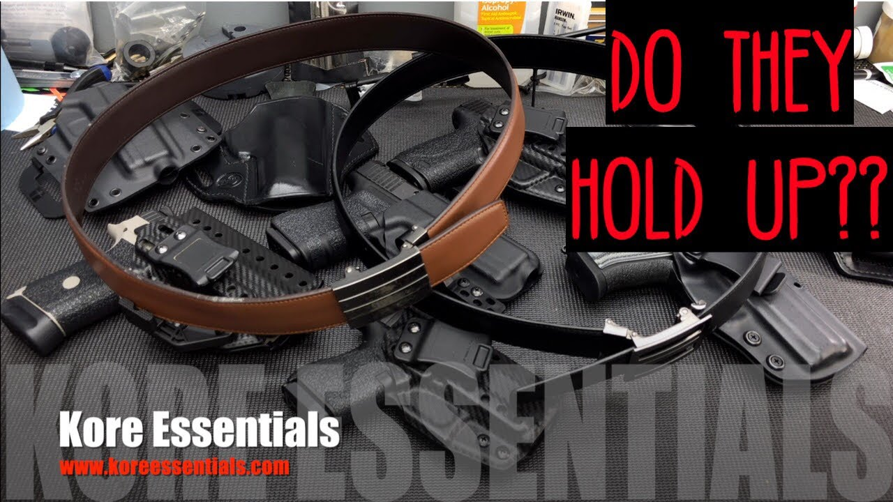 Do They Hold Up Kore Essentials Belts 1 Year Later Youtube You get remarkable strength and abundant flexibility to keep your firearm comfortable and secure all day. do they hold up kore essentials belts 1 year later