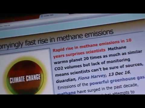 SCIENTISTS WORRY: FAST RISE IN METHANE EMISSIONS