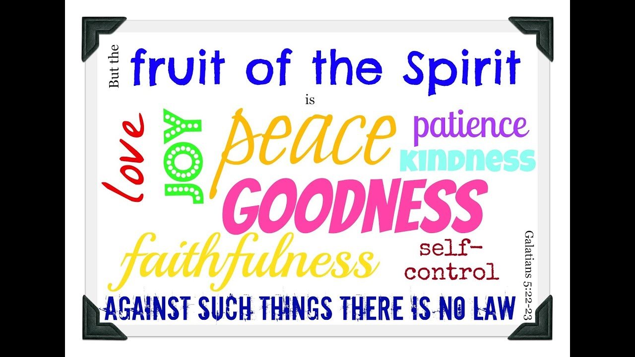 Songs About The Fruit Of The Spirit For Kids