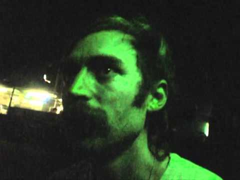 Black Interview - Oliver Ackermann, A Place To Bury Strangers (Live in Milan, 08/07/2011)