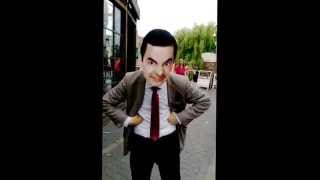 mr bean street art