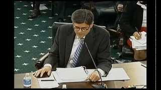 Jaime questions Treasury Secretary about bonuses given to IRS employees