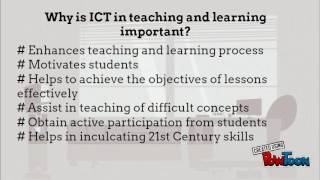 ICT in teaching and learning