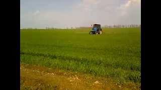МТЗ-892 подкормка пшеницы по листу