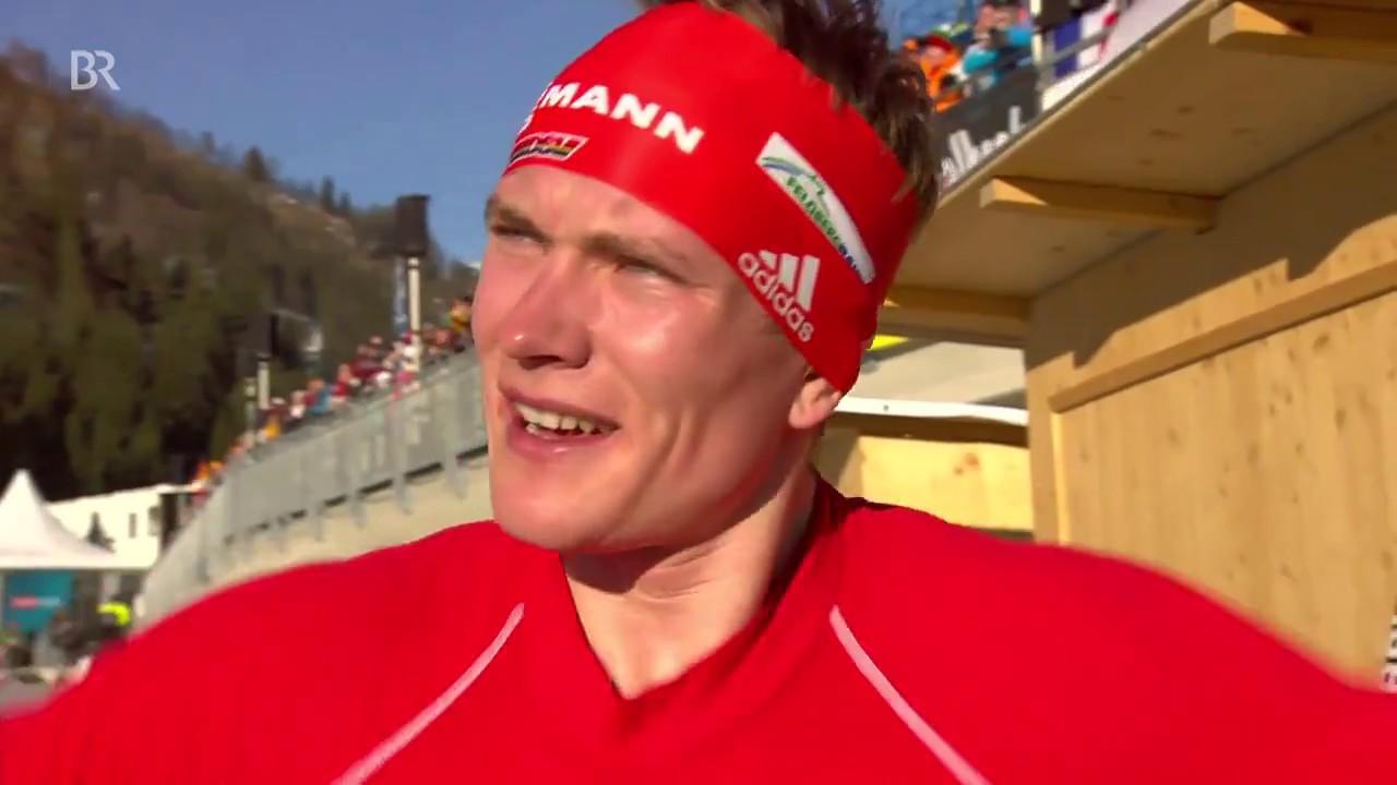 Biathlon WCh-2017. Benedikt Doll wins sprint gold