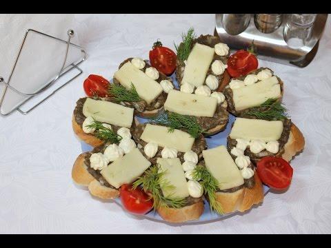 Горячие бутерброды с рыбным паштетом. Серия Каша из топора