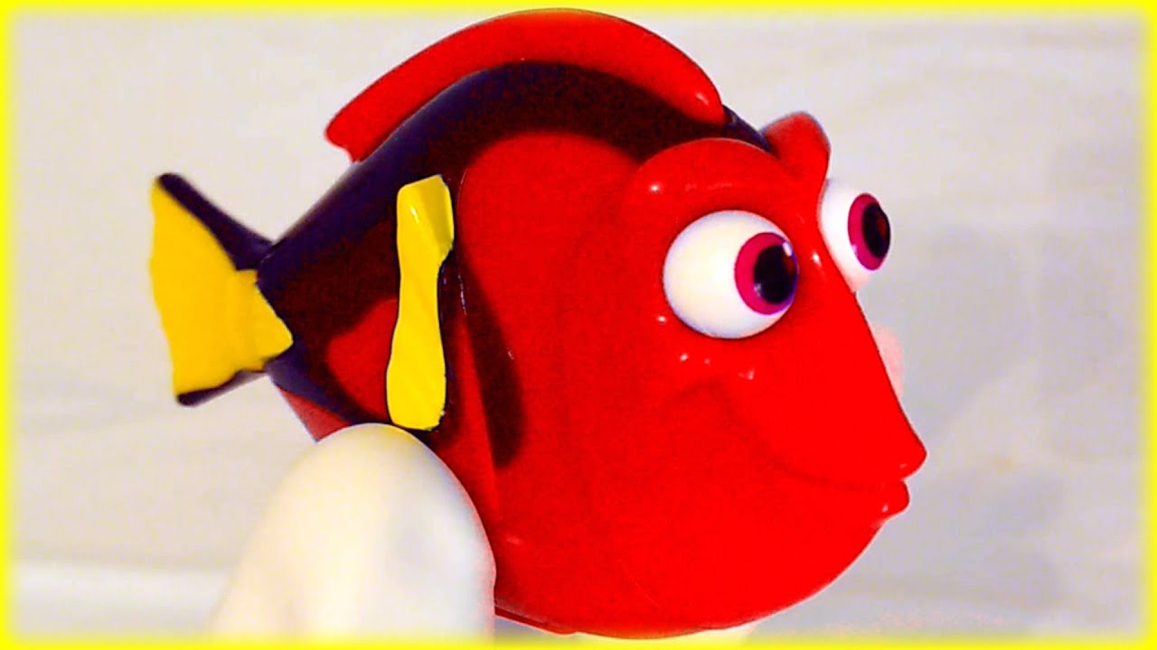 Learn Colors English Spanish Color Changing Dory Disney Finding Dory ...