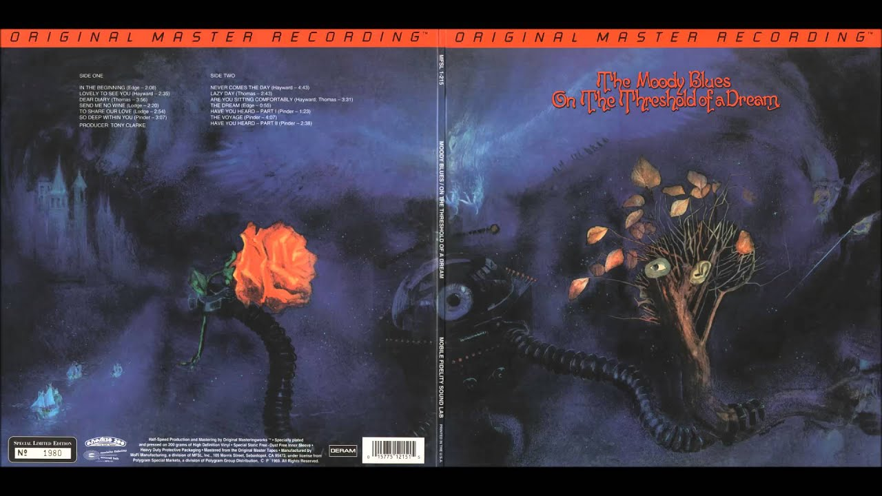 THE MOODY BLUES -- On The Threshold of a Dream -- 09 -10 -11 -12 -13