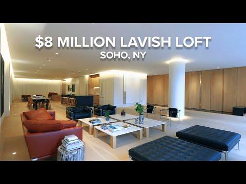 Experience This $8 Million Lavish Loft in the Heart of SoHo, NY - DroneHub
