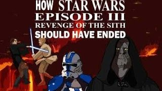 How Star Wars Episode III Revenge of the Sith should have ended