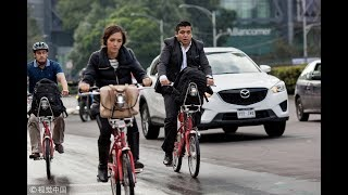 The use of bicycles draws safety concerns in Mexico City