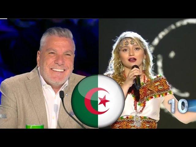 اسمهان سيمون تبهر من جديد بأغنية أمازغية رائعة, وعلي ينبهر بالجزائريين  arabs got talent 2019
