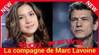 La compagne de Marc Lavoine, Line Papin « ne voit pas » leurs 33 ans d'écart