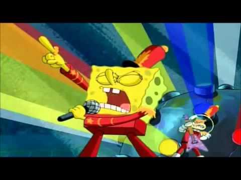 spongebob sings monster skillet