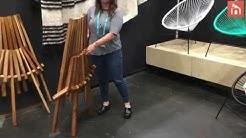 Maya Meube Folding Slat Chair