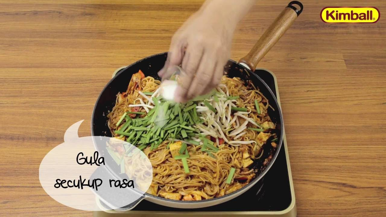Kimball Recipe Kimball Angel Hair Mamak Style Fried Pasta Youtube