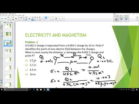 FE Exam Review -  Electricity and Magnetism/ Marshall University