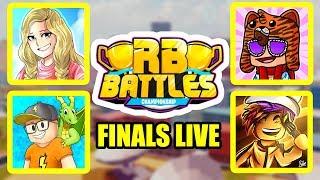 Roblox RB BATTLES CHAMPIONSHIP FINALE LIVE STREAM