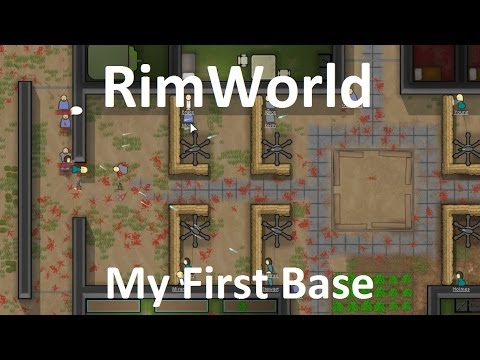 rimworld my first base example youtube. Black Bedroom Furniture Sets. Home Design Ideas