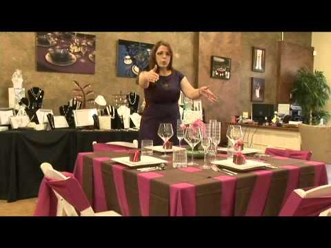 How to Decorate a Wedding Reception on a Budget - YouTube