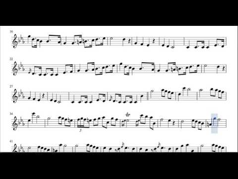 Funeral March Sheet Music for Flute Violin and Oboe Chopin