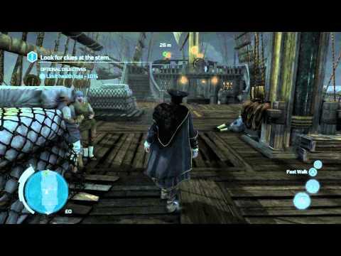 Assassin's Creed III Gameplay/Walkthrough Commentary Part 2 - Atlantic Ocean Day 2