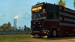 Euro Truck Simulator 2 | Présentation Bétaillère Team STA