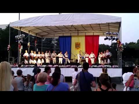 Traditional Moldovan Dancing at Independence Celebration