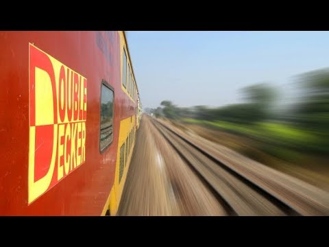 Full Journey Compilation : Jaipur Delhi AC DOUBLE DECKER Express | INDIAN RAILWAYS