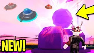 NEW MILITARY BASE UPDATE! *ALIEN INVASION* | Planes, New Guns, Tanks!? | Roblox Jailbreak New Update