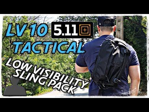 5.11 LV10 // Mon sac Edc discret (low profile) // Review et intérêt