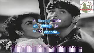 dam bhar jo udhar munh phere Hindi karaoke for Male singers with lyrics