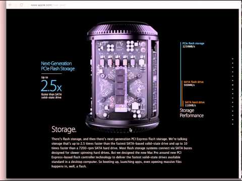 How Apple Made The New Mac Pro Web Page