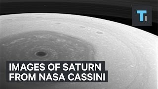 NASA's Cassini spacecraft releases first close-up photos of Saturn