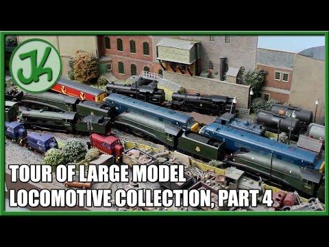 Large model locomotive collection tour part 4 - JennyCam 9