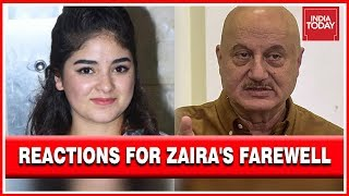 Reactions Pour In After Zaira Wasim Decides To Say Goodbye To Bollywood