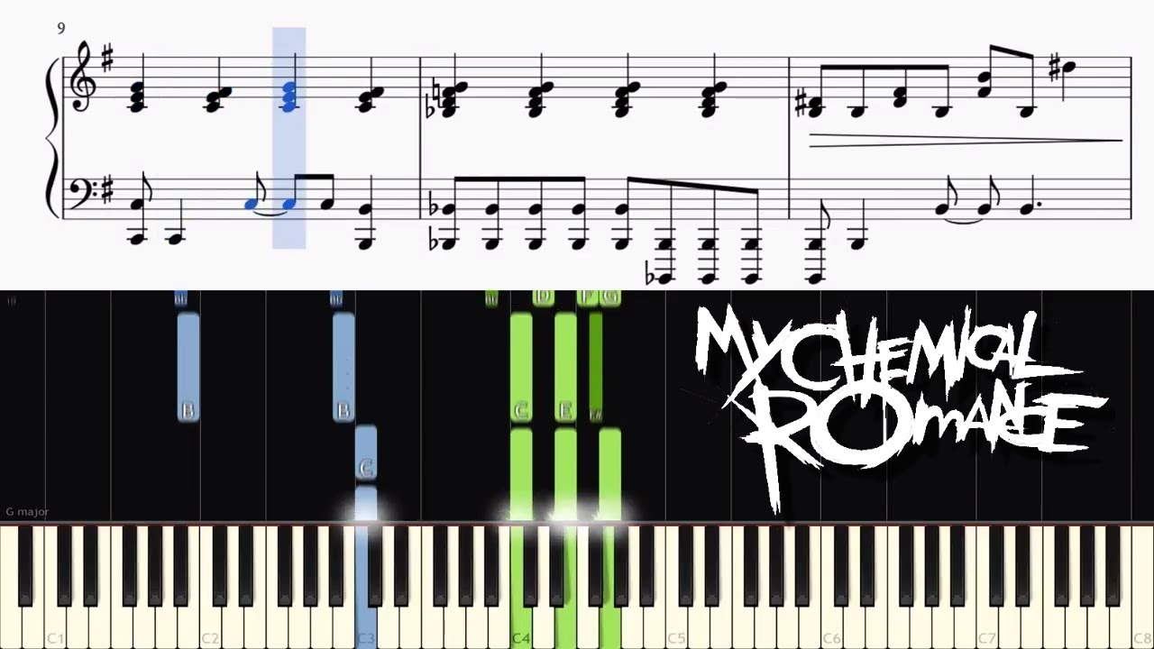 My chemical romance interlude live in mexico piano tutorial my chemical romance interlude live in mexico piano tutorial sheets hexwebz Choice Image