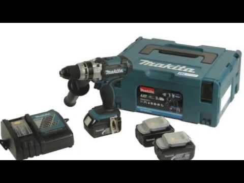 makita bhp453rhj akku bohrschrauber 18 v test youtube. Black Bedroom Furniture Sets. Home Design Ideas