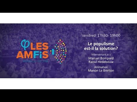 EN DIRECT - #AmFis2018 - Le populisme est-il la solution ?